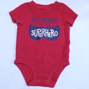 6M My Daddy is my Superhero Onesie Carter's